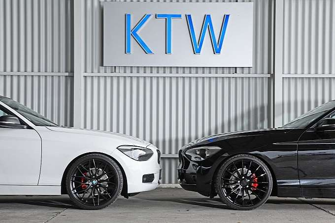 BMW 116i KTW Tuning