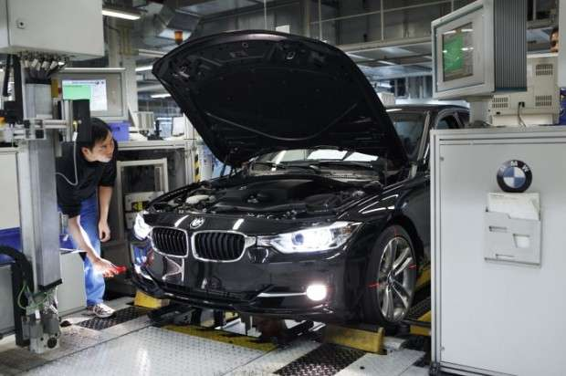 BMW series 3 production