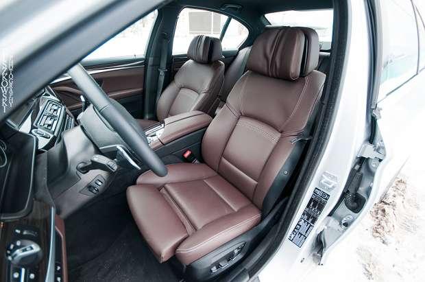 BMW 5-series seats
