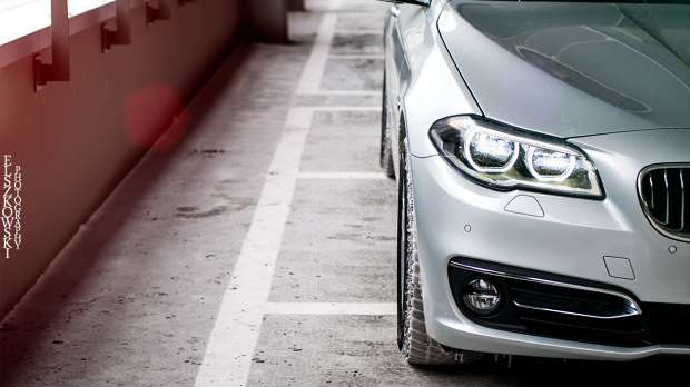 BMW 5 2014 lights