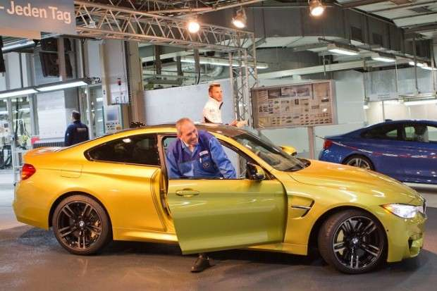 BMW M4 Coupe production