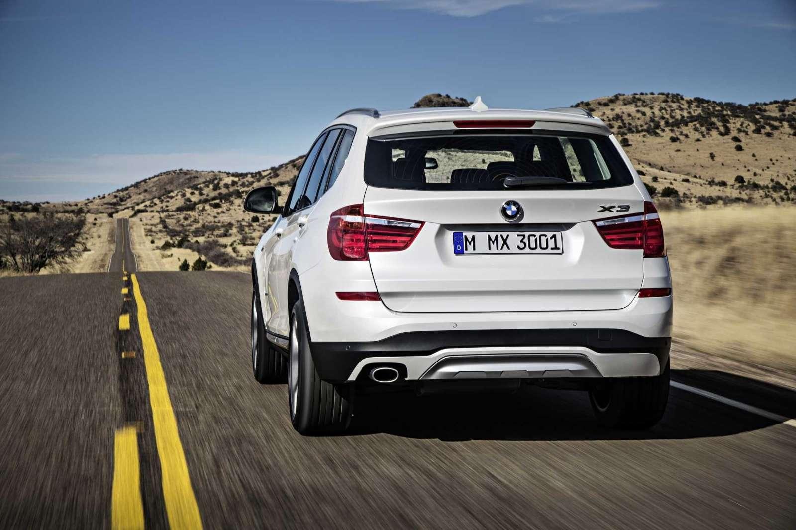 BMW X3 2015 Facelift