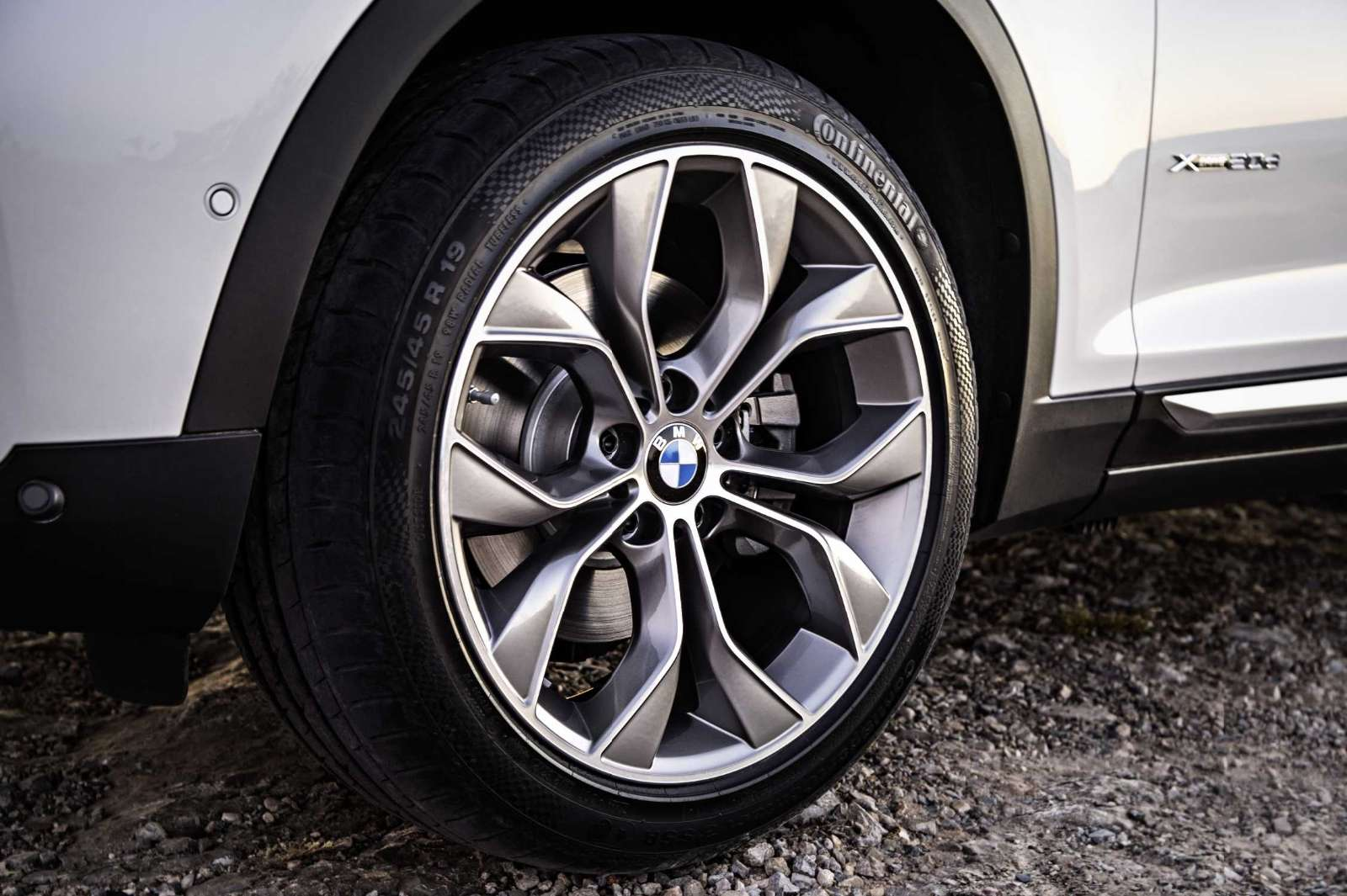 BMW X3 2015 Facelift wheels