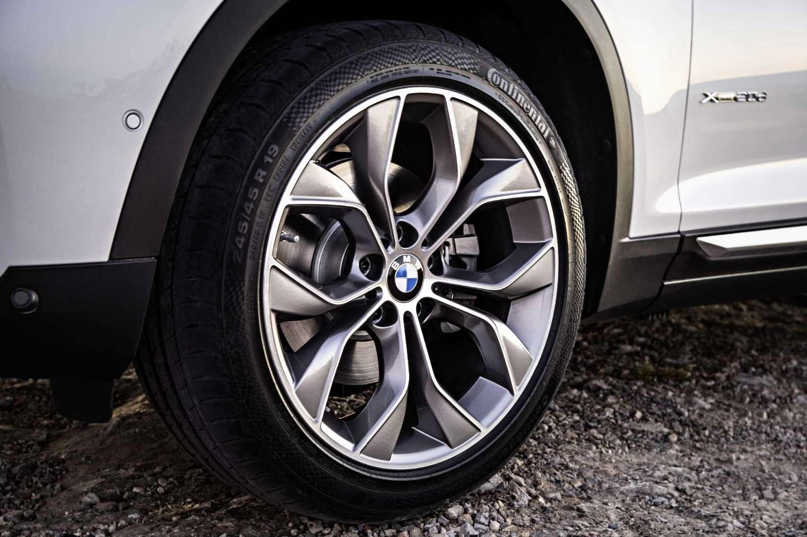 BMW X3 2015 Facelift wheels