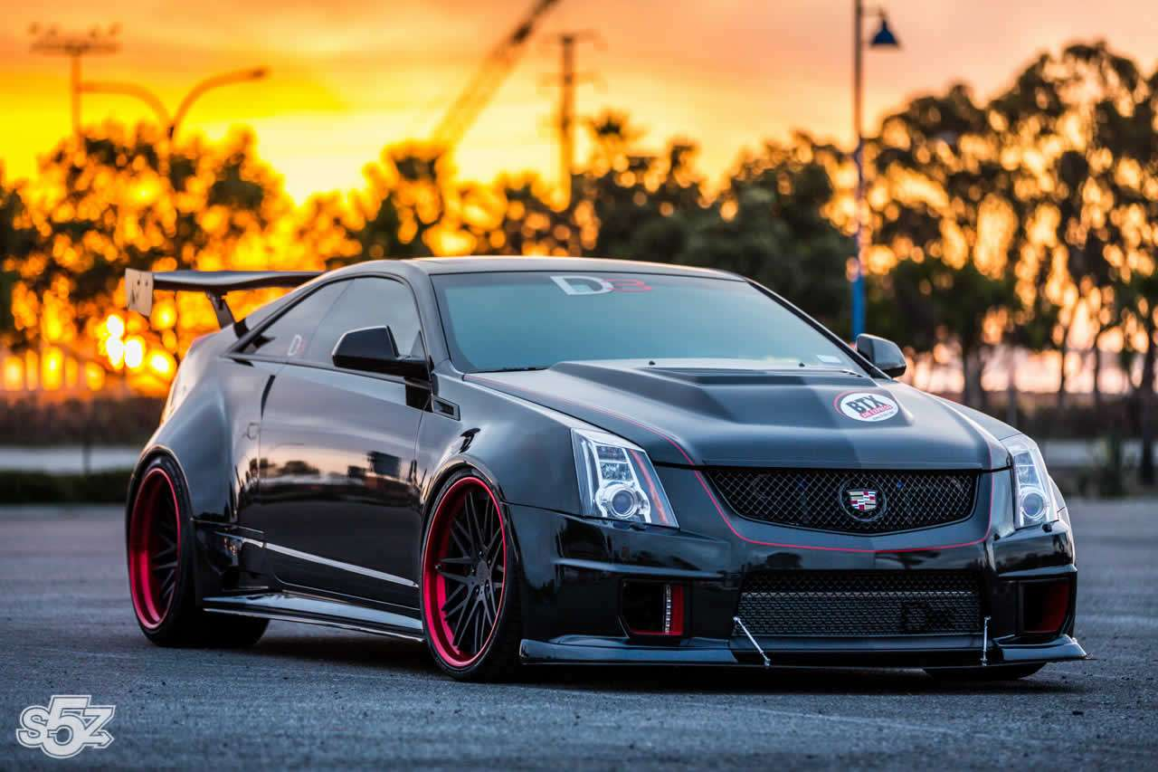 cadillac cts v coupe po tuningu d3 motofilm. Black Bedroom Furniture Sets. Home Design Ideas