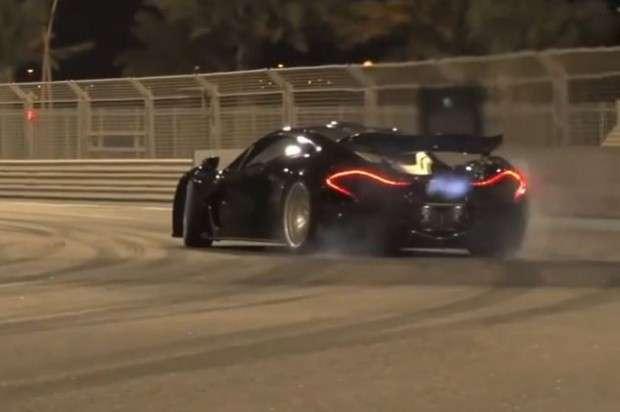 McLaren P1 drift