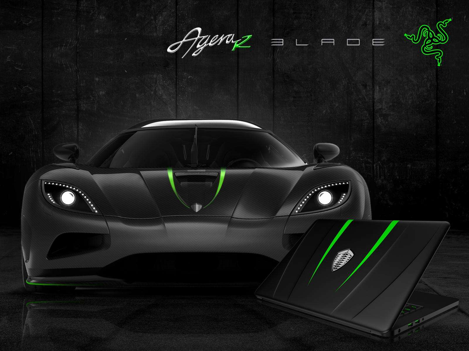 Koenigsegg Razer Blade limited edition laptop