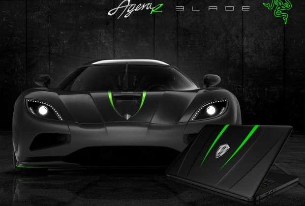 Koenigsegg Razer Blade