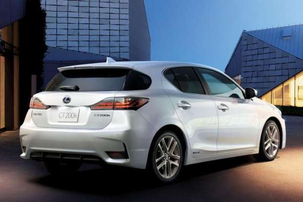 Lexus CT200h facelift 2014