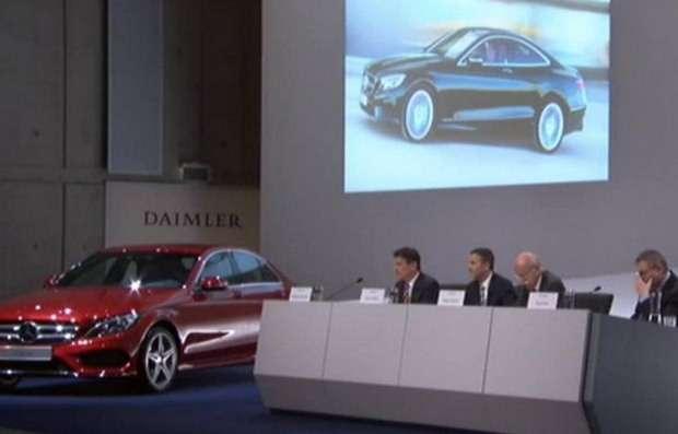 Mercedes S Coupe prezentacja