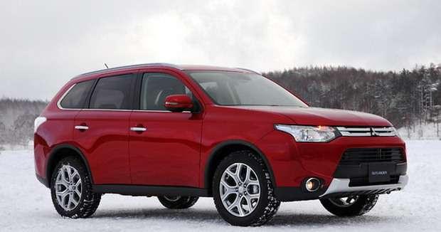 Mitsubishi Outlander Facelift 2014