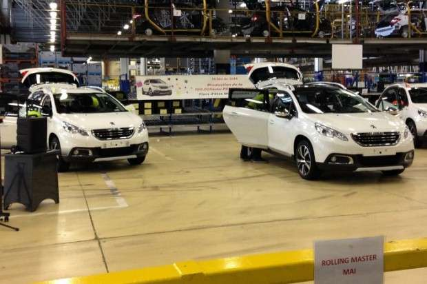 Peugeot 2008 production