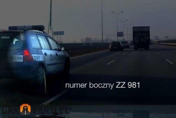 Polska policja Ford