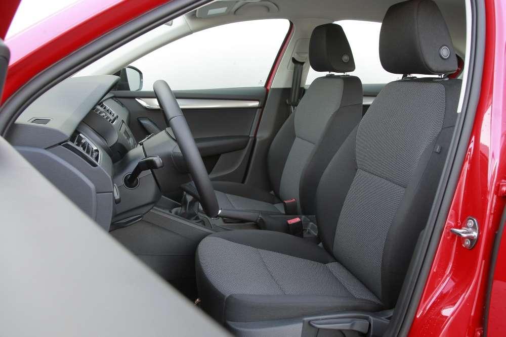 Skoda Octavia III Active interior