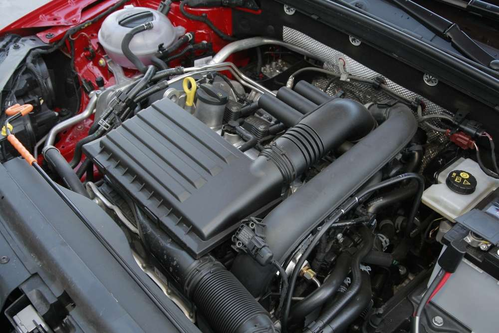 Skoda Octavia III Active engine