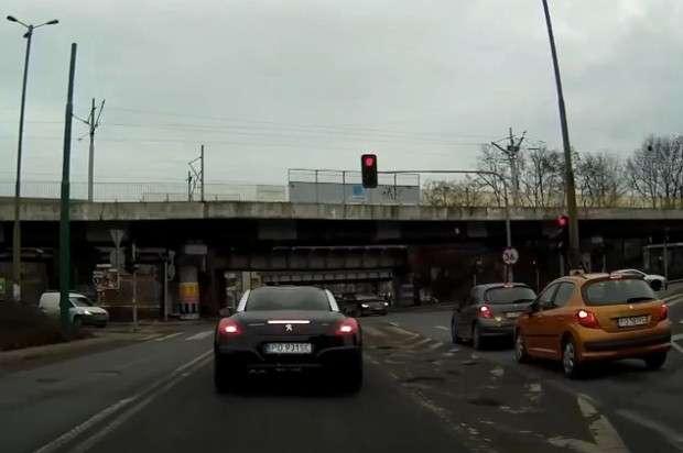 Skrzyżowanie w Poznaniu