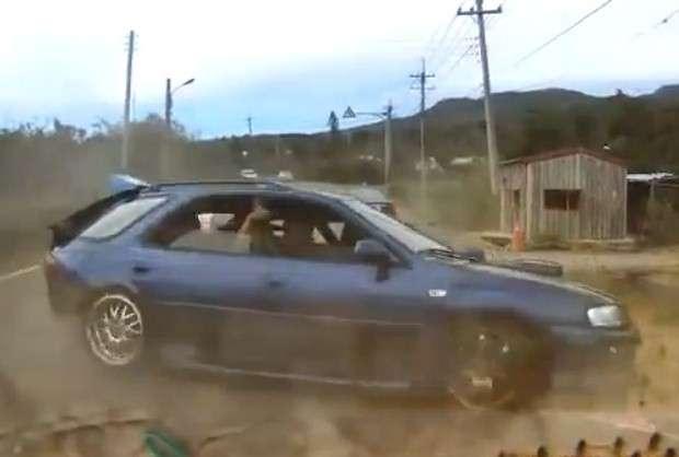 Subaru crash