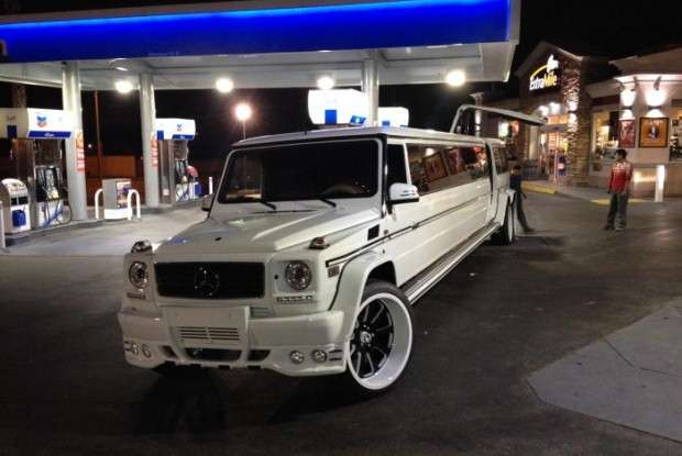 Mercedes G55 AMG limo