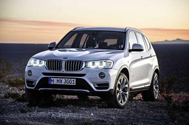 Nowe BMW X3 2015