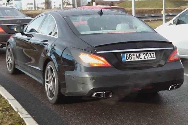 Mercedes CLS 63 AMG facelift 2014