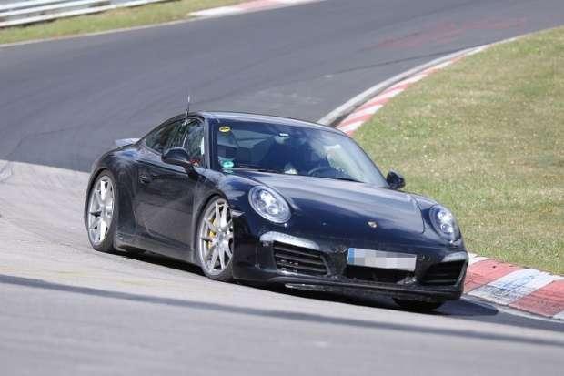 Porsche 911 2015 facelift spy