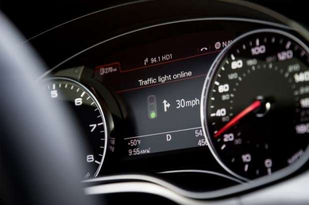 Audi Online traffic