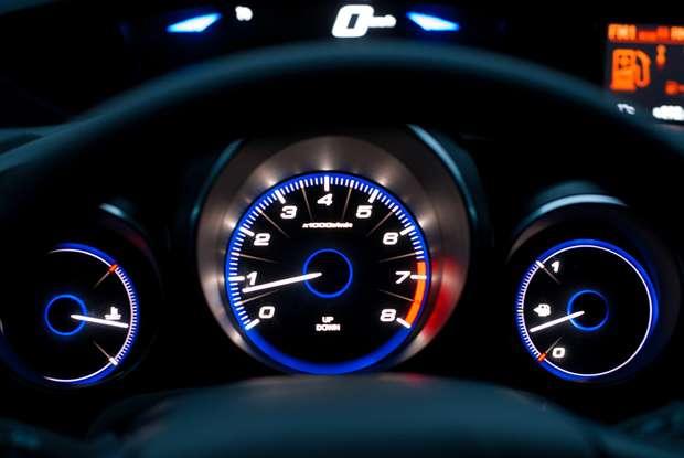 Honda Civic 1.8 i-VTEC Sport prędkościomierz