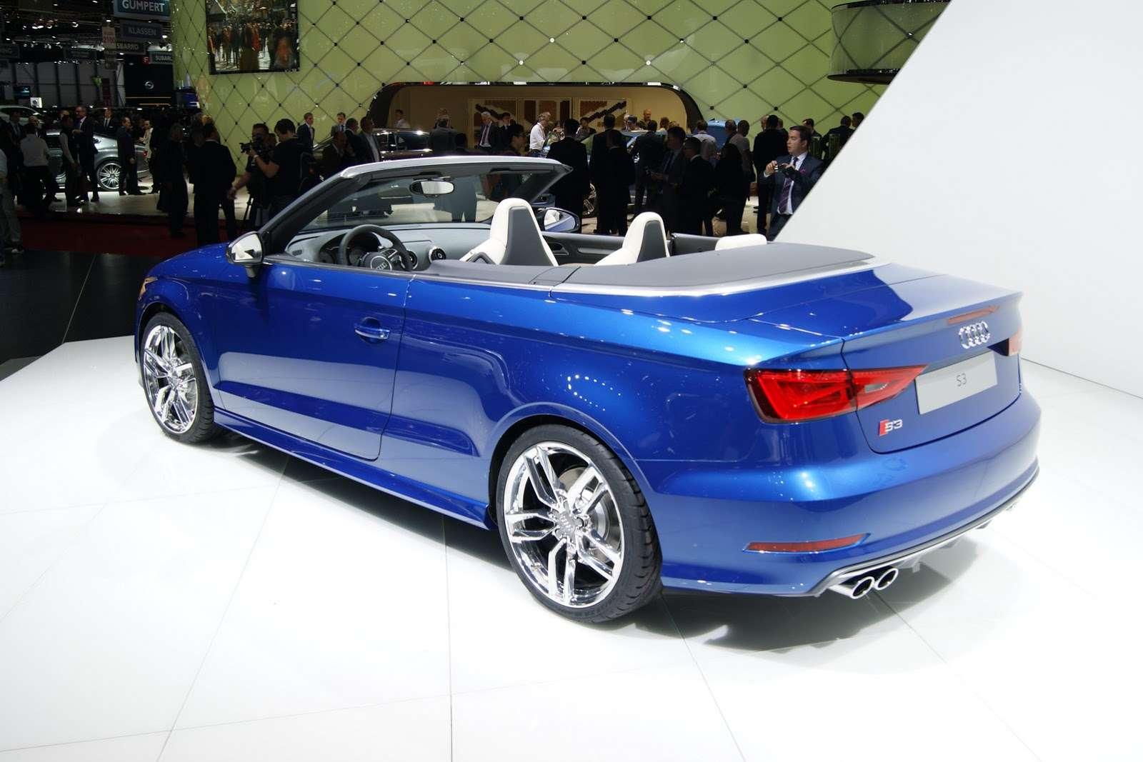 Audi s3 cabriolet Geneva 2014