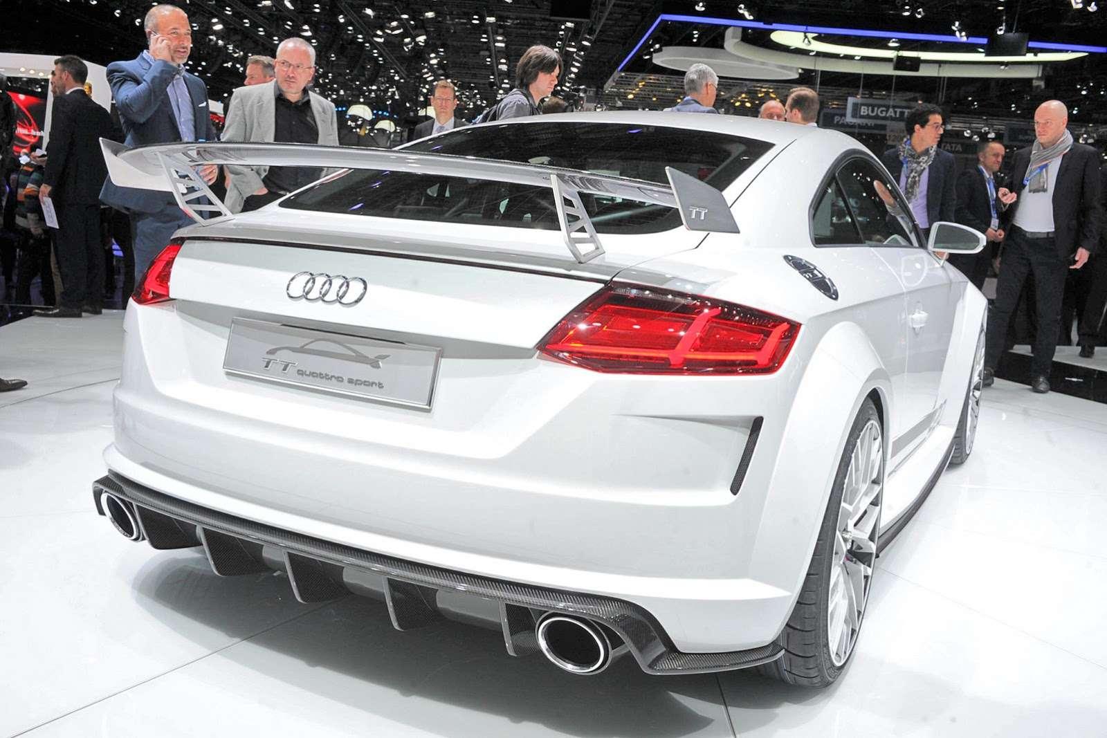 Audi tt Geneva 2014