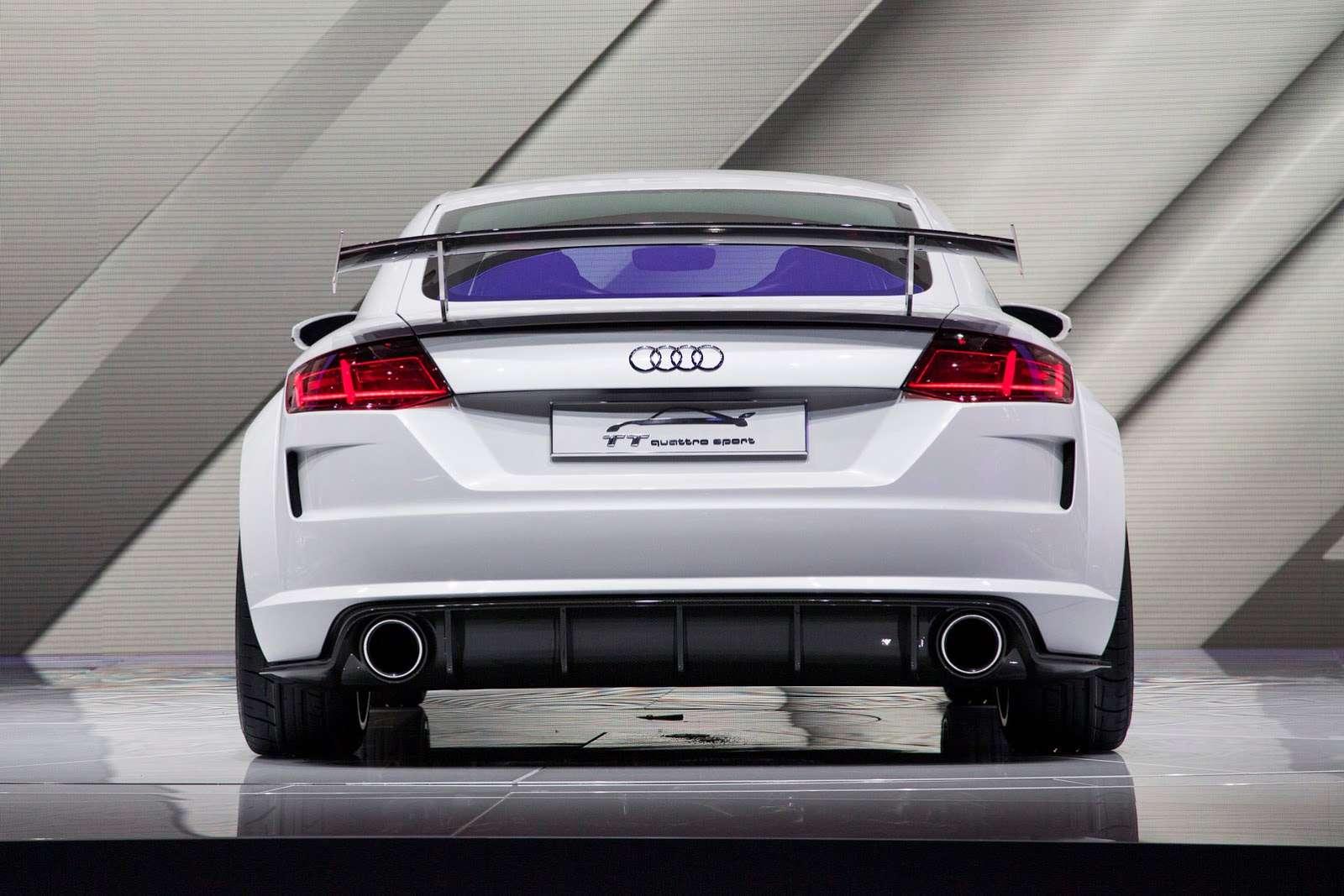 Audi tt quattro sport Geneva 2014