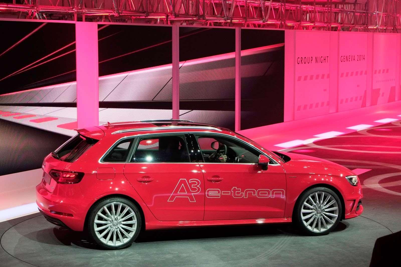 Audi a3 e-tron Geneva 2014