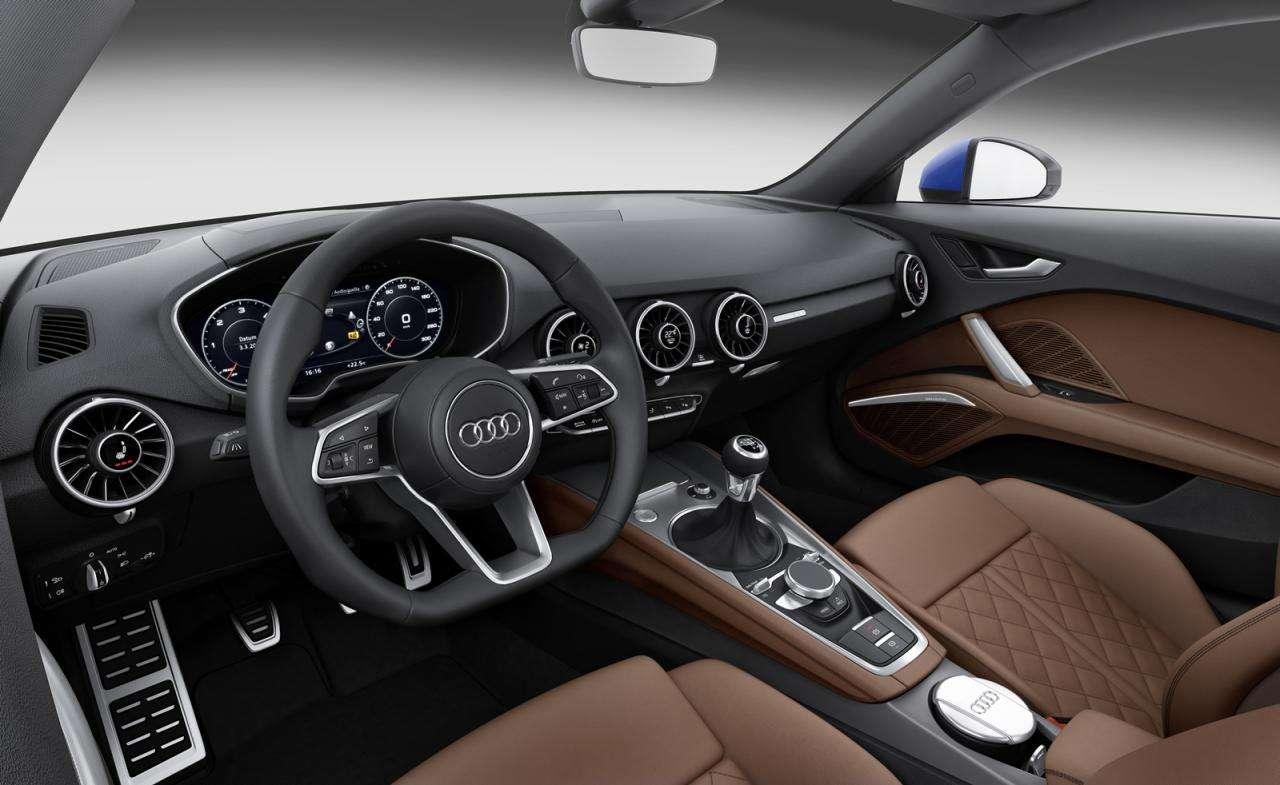 Audi TT 2015 interior