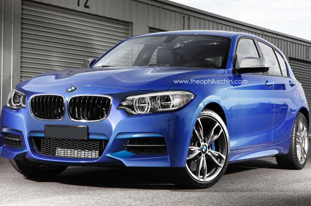 BMW 1-series F21 facelift rendering