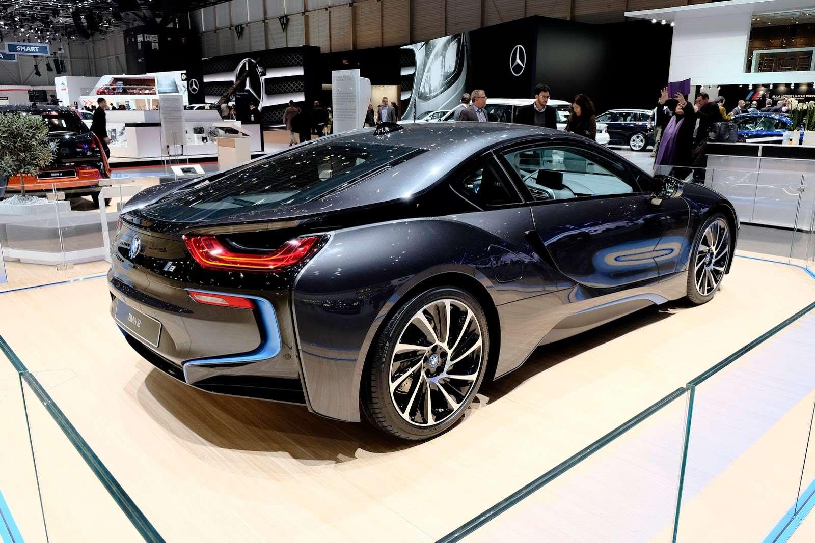 BMW i8 geneva