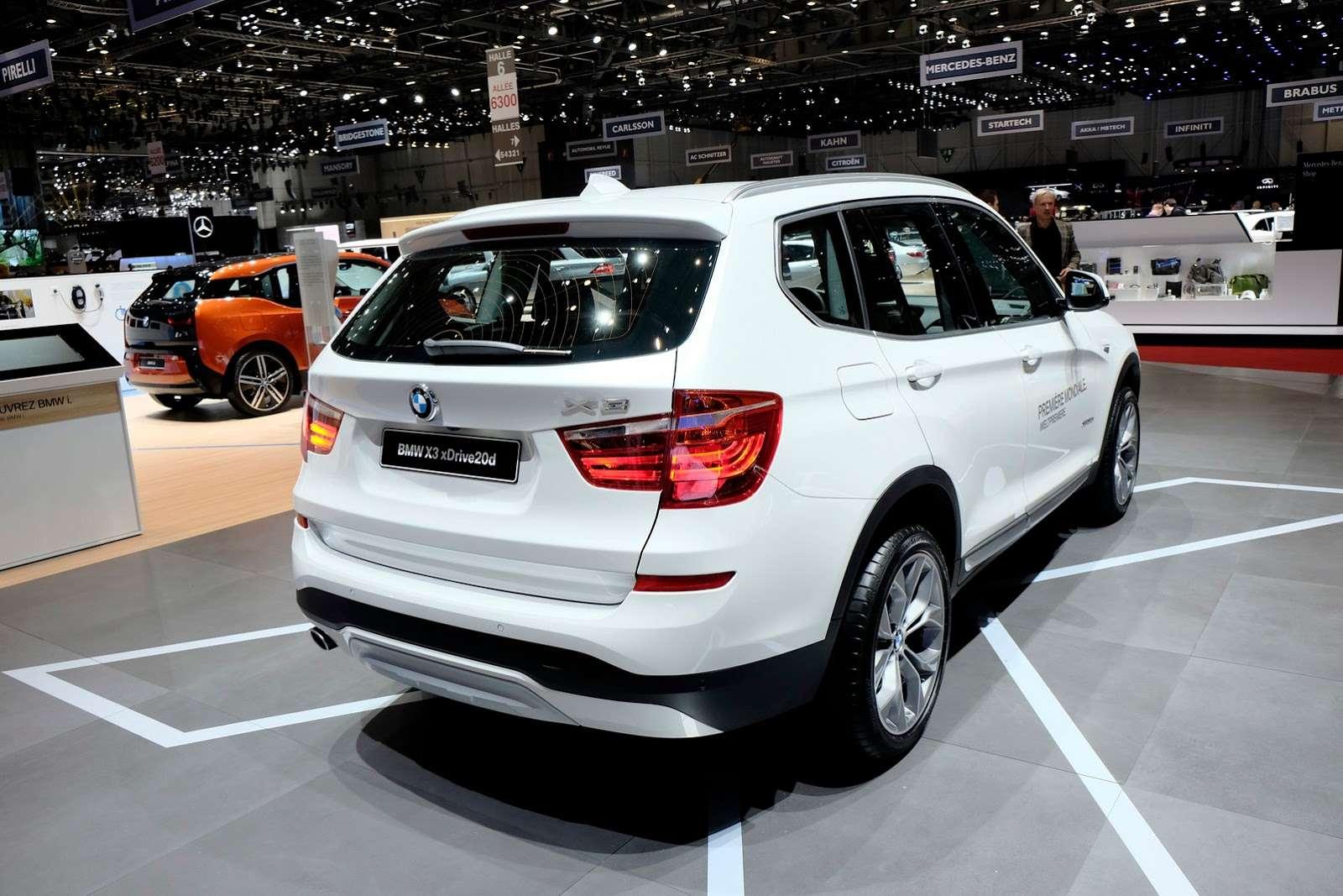 BMW x3 geneva