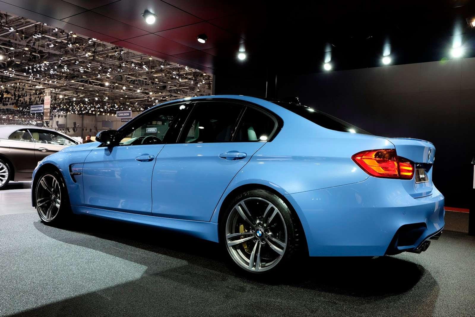 BMW m3 geneva 2014