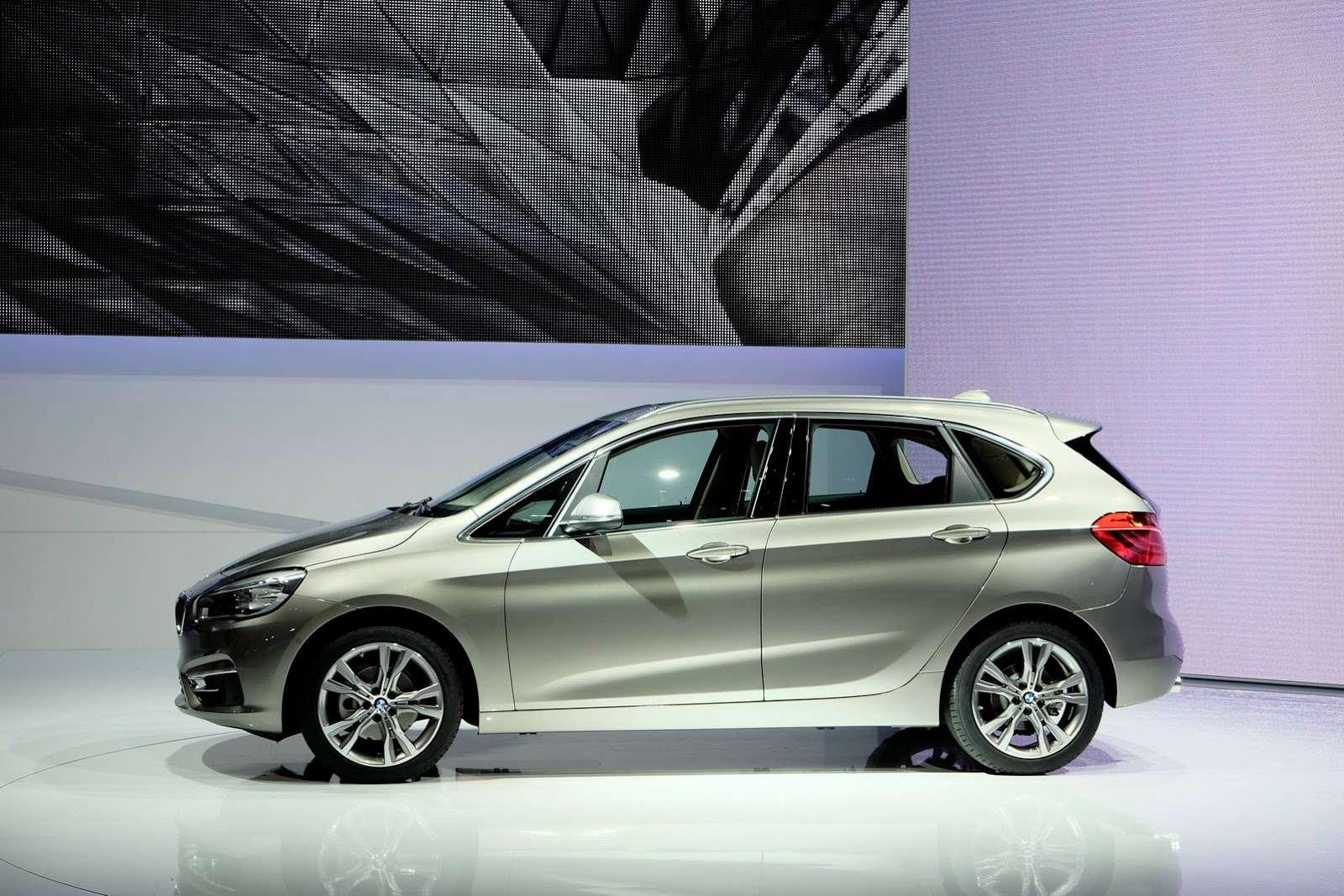 BMW 2 active tourer geneva 2014