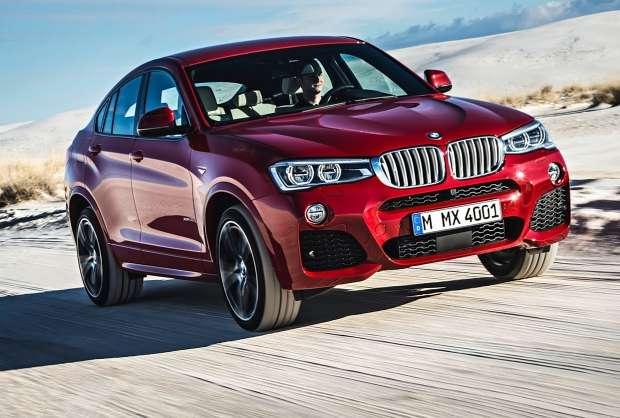 Nowe BMW X4