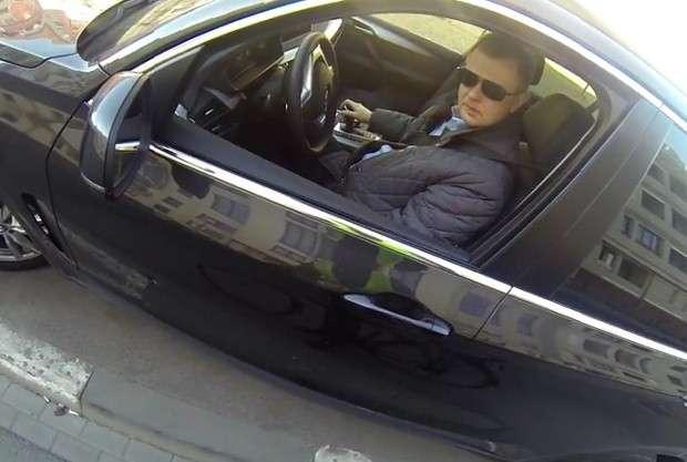 BMW X5 kierowca