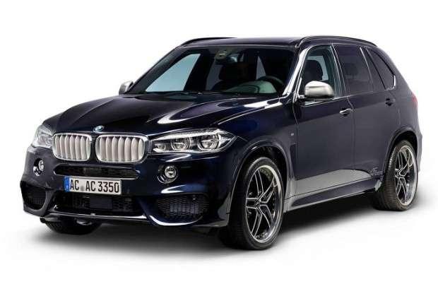 Nowe BMW X5 tuning AC Schnitzer