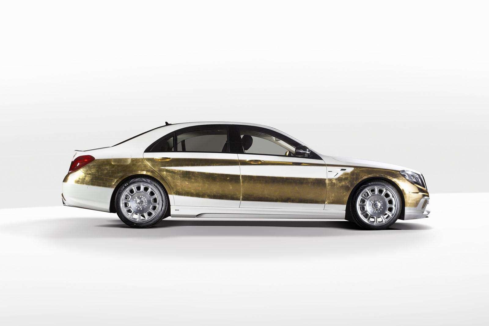 Samochód ze złota
