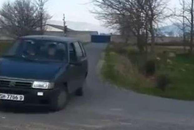 Fiat Uno drift