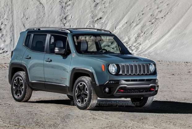 Nowy Jeep Renegade 2014