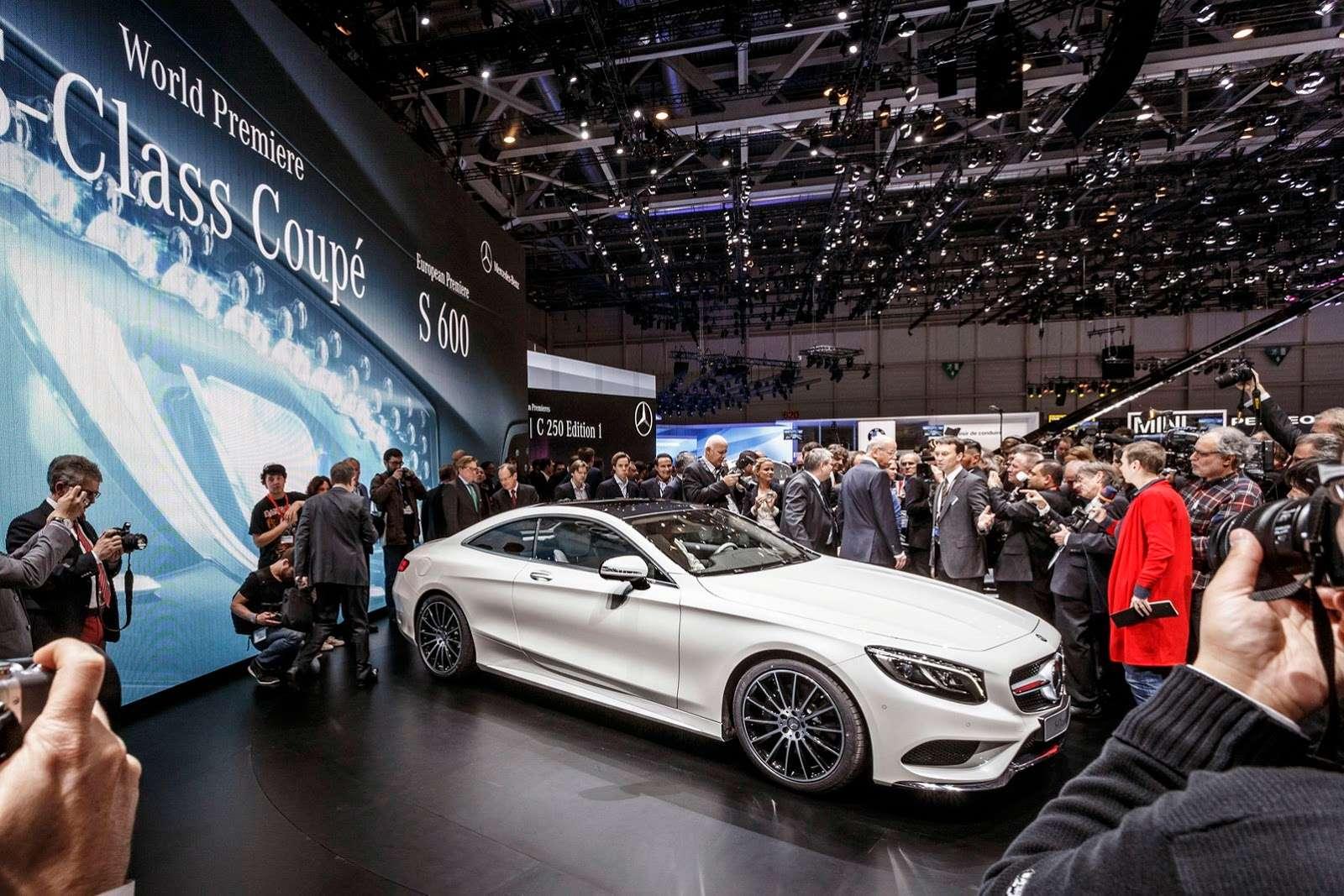 Mercedes Klasy S Coupe Geneva 2014