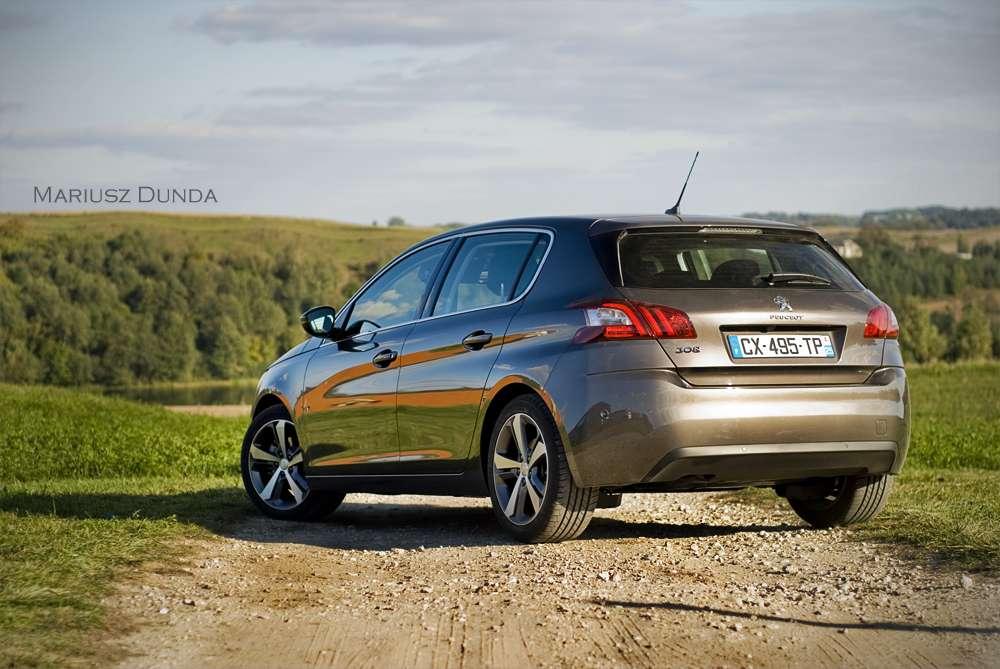 Peugeot 308 test