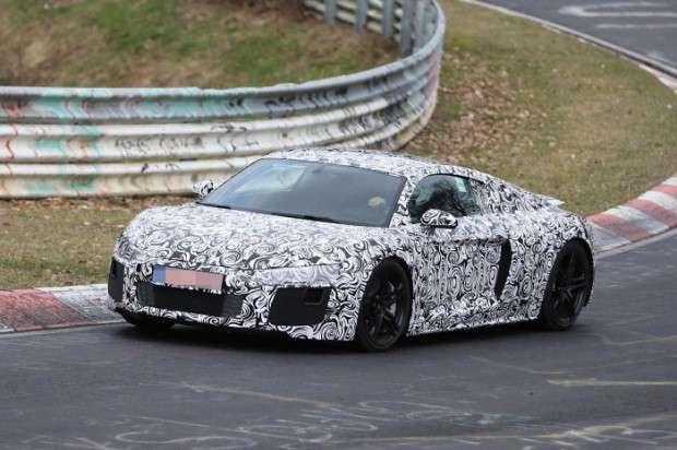 Audi R8 2015 spy
