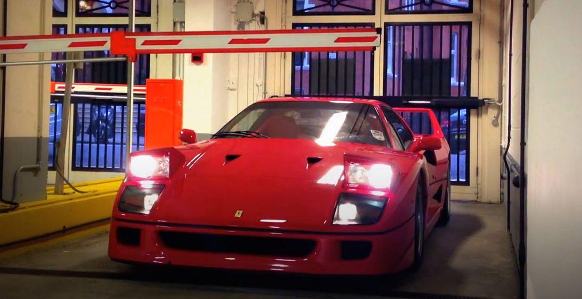 Ferrari F40 Parking