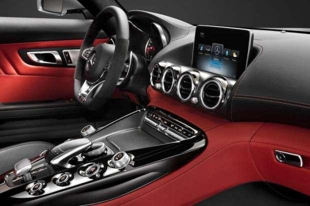 Mercedes AMG GT 2015