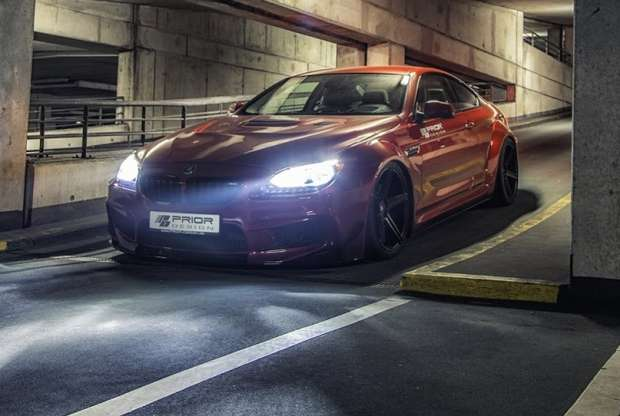 BMW 6-series tuning