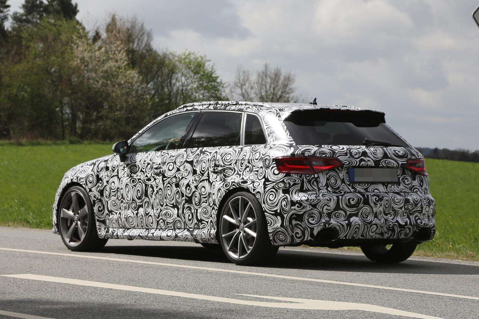 Audi RS3 2016 spy